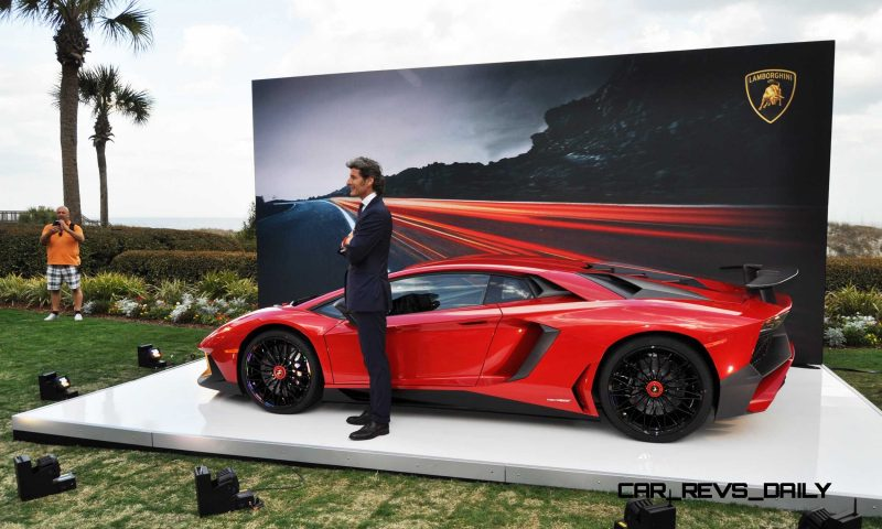 2015 Lamborghini Aventador SV USA Reveal 24