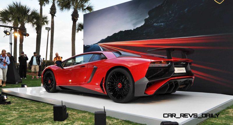 2015 Lamborghini Aventador SV USA Reveal 30