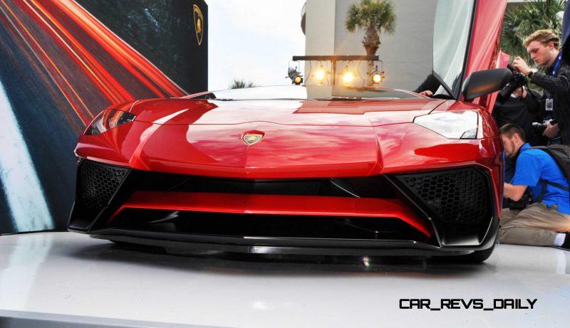 2015 Lamborghini Aventador SV USA Reveal 47