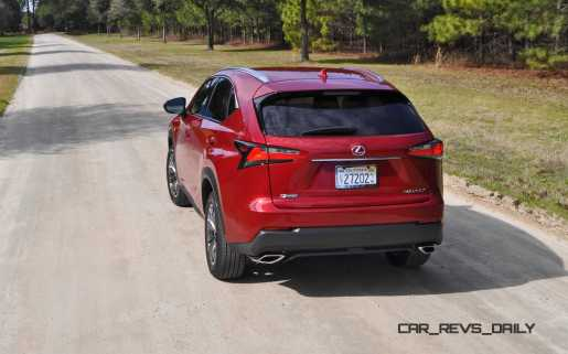 2015 Lexus NX200t F Sport Review 32