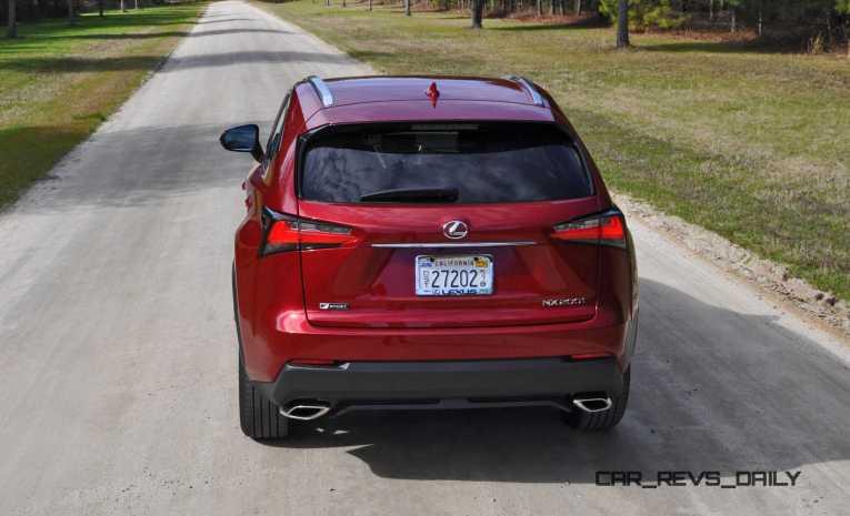 2015 Lexus NX200t F Sport Review 34