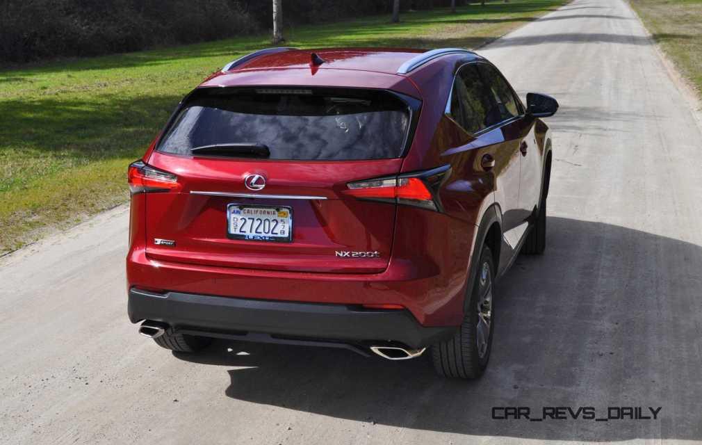 2015 Lexus NX200t F Sport Review 38