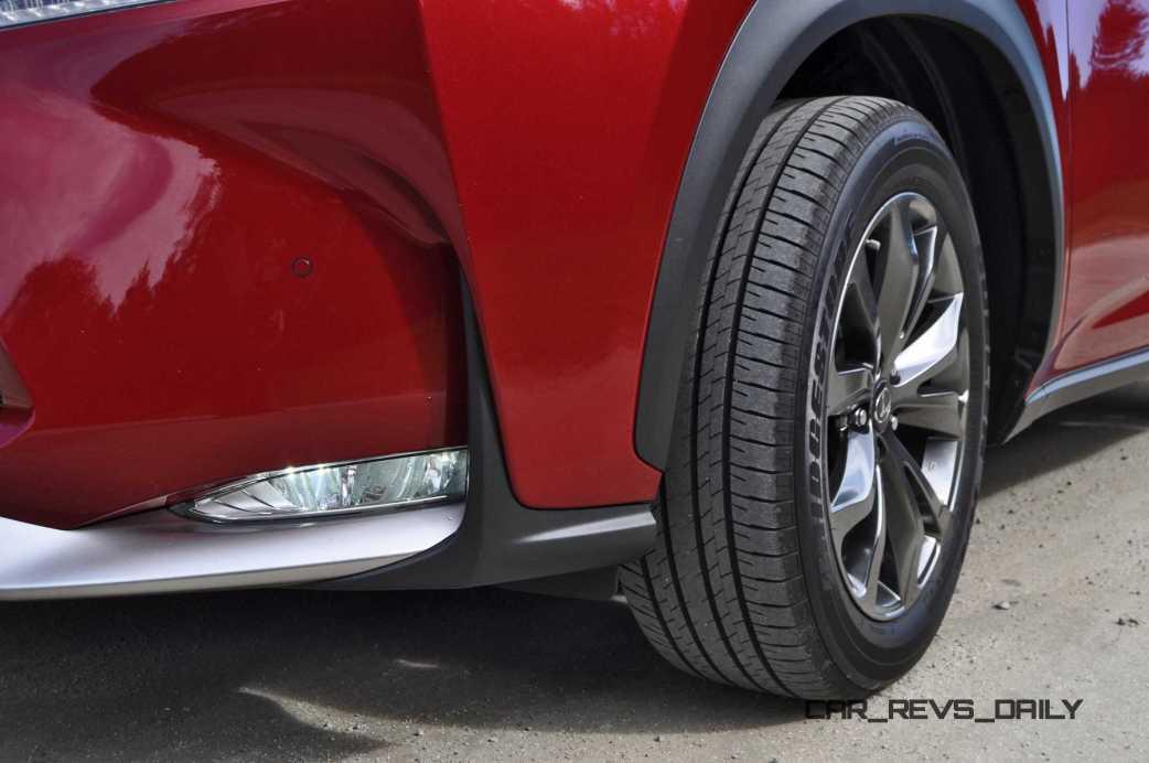 2015 Lexus NX200t F Sport Review 52