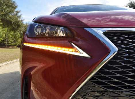 2015 Lexus NX200t F Sport Review 76