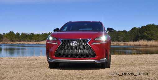 2015 Lexus NX200t F Sport Review 86
