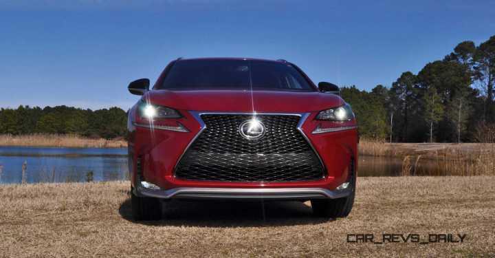 2015 Lexus NX200t F Sport Review 88
