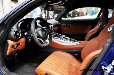 2015 Mercedes-AMG GT-S Red Blue Amelia Island 125