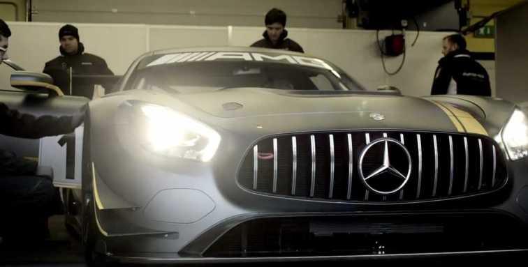 2015 Mercedes-AMG GT3 28
