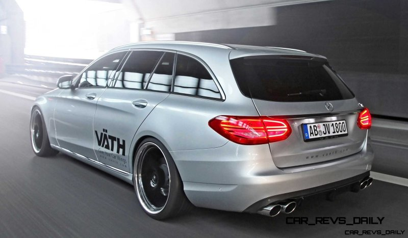 2015 Mercedes-Benz C-Class Estate by VAETH 10