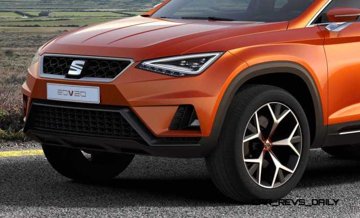2015 SEAT 20V20 Concept SUV 15