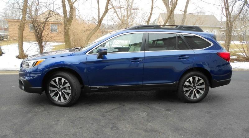 2015 Subaru Outback Limited 1