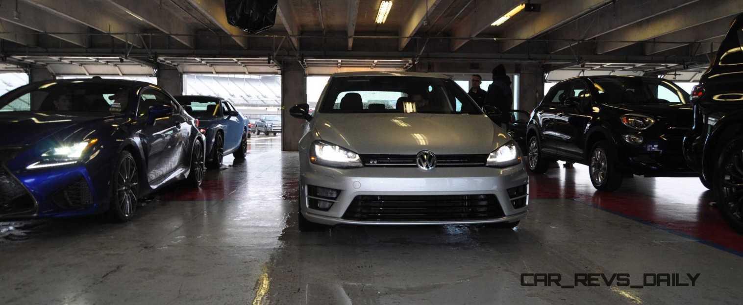 2015 Volkswagen Golf R Review 70