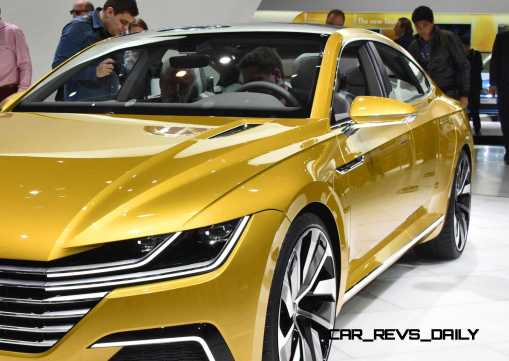 2015 Volkswagen Sport Coupe Concept GTE 5
