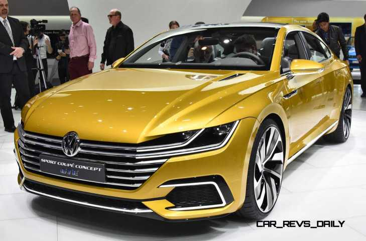 2015 Volkswagen Sport Coupe Concept GTE 7