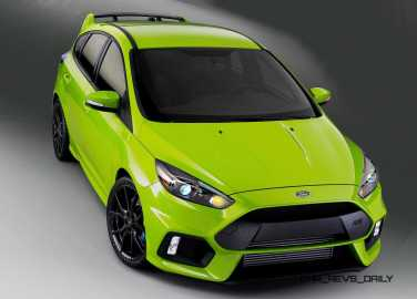 2016 Ford Focus RS - Digital Colorizer 3
