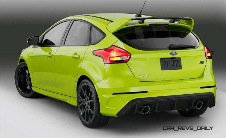 2016 Ford Focus RS - Digital Colorizer 45