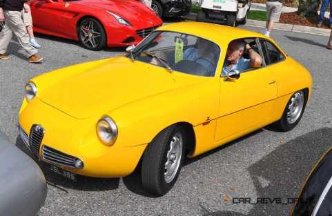 Amelia 2015 Highlights - 1962 Alfa Romeo Giulietta SZ 10