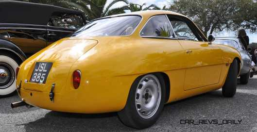 Amelia 2015 Highlights - 1962 Alfa Romeo Giulietta SZ 19