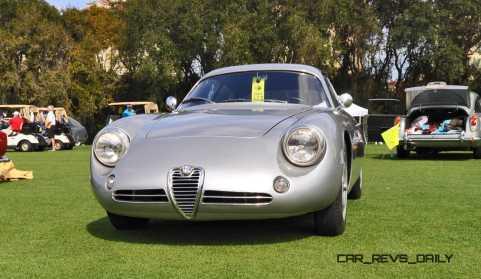 Amelia 2015 Highlights - 1962 Alfa Romeo Giulietta SZ 34