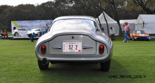 Amelia 2015 Highlights - 1962 Alfa Romeo Giulietta SZ 52