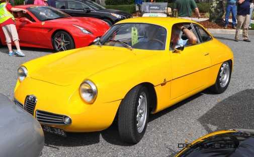 Amelia 2015 Highlights - 1962 Alfa Romeo Giulietta SZ 9