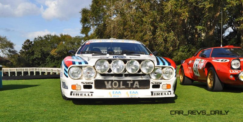 Amelia Island 2015 - 1983 Lancia 037 11