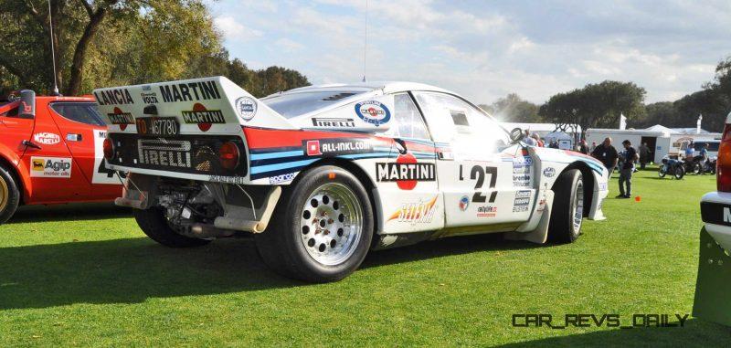 Amelia Island 2015 - 1983 Lancia 037 19