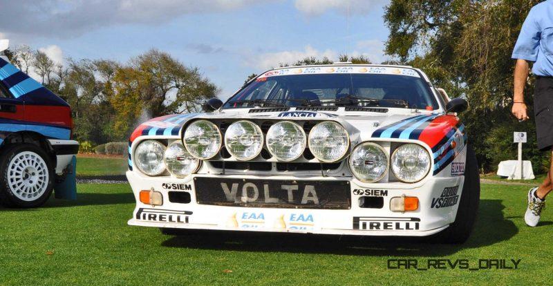 Amelia Island 2015 - 1983 Lancia 037 2