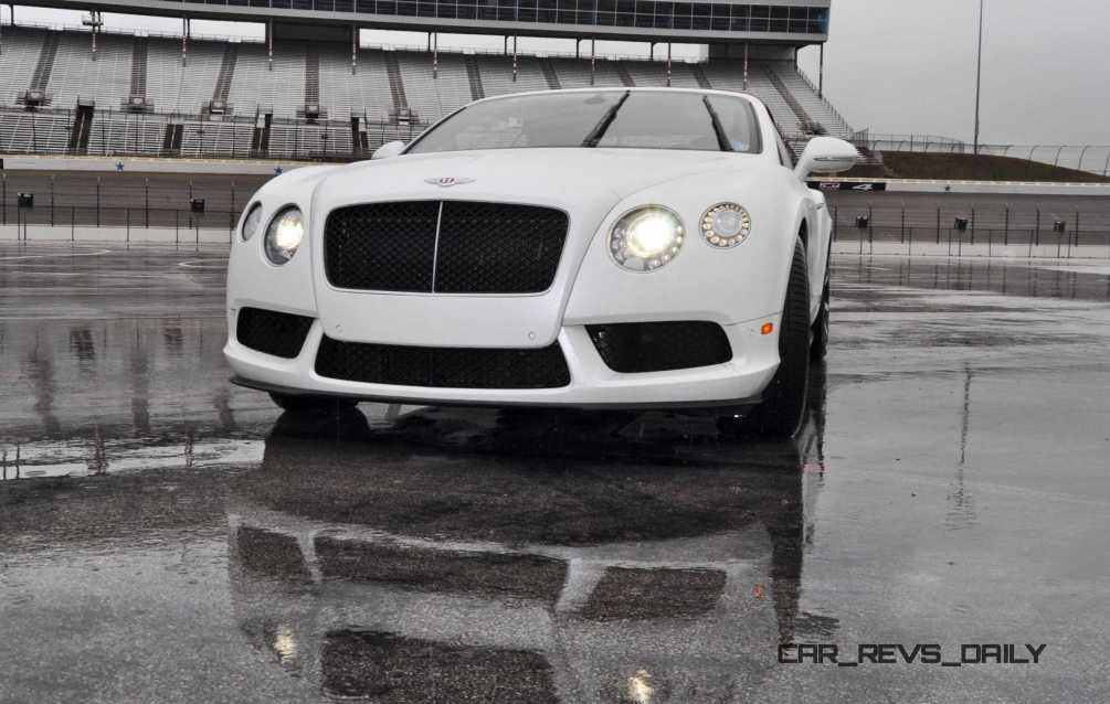 First Drive Review - 2015 Bentley Continental GT V8S - White Satin 16