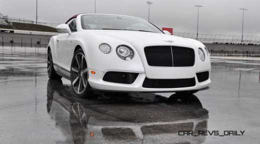 First Drive Review - 2015 Bentley Continental GT V8S - White Satin 31