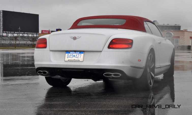 First Drive Review - 2015 Bentley Continental GT V8S - White Satin 49