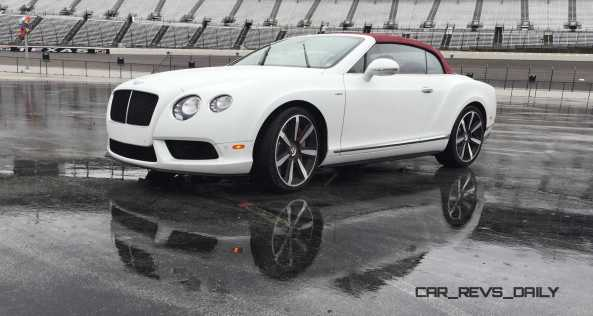 First Drive Review - 2015 Bentley Continental GT V8S - White Satin 7