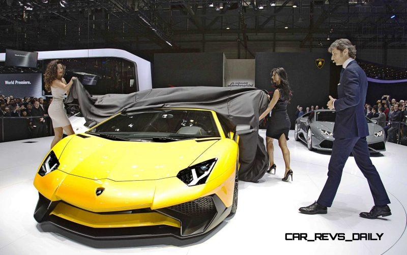 Geneva 2015 Galleries - The ITALIANS! Lamborghini, Ferrari, Maserati and Alfa Romeo 43