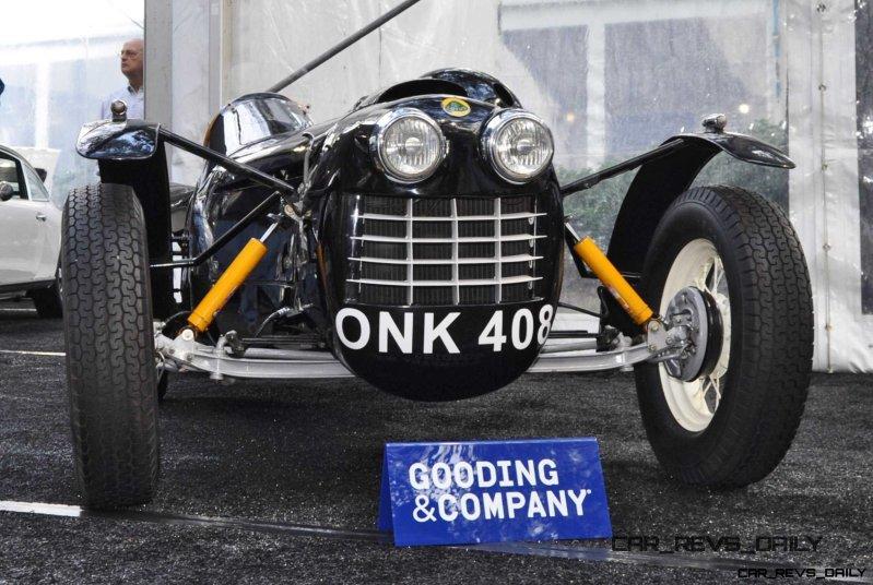 Gooding Amelia 2015 - 1951 Lotus Mk IIIB Was First-Ever Customer Lotus 7