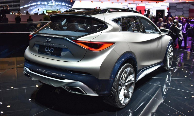 INFINITI Q60 and QX30 Concepts Are Embarrassing Jokes 12