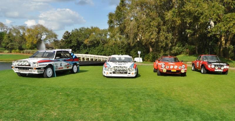 LANCIA Rally Reunion - Stratos, Integrale, Fulvia and 037 Together for Amelia 2015 1