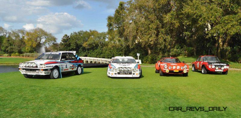 LANCIA Rally Reunion - Stratos, Integrale, Fulvia and 037 Together for Amelia 2015 2