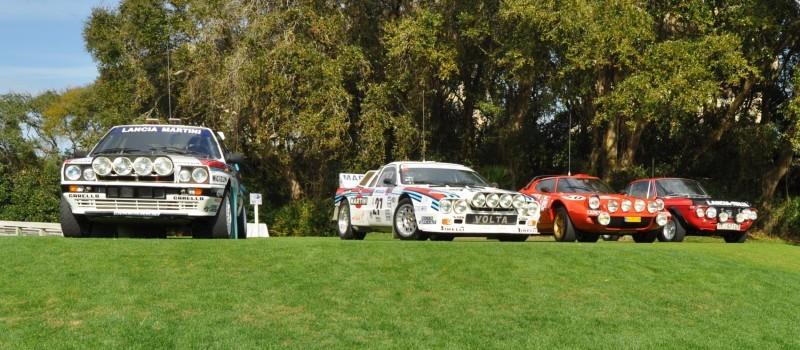 LANCIA Rally Reunion - Stratos, Integrale, Fulvia and 037 Together for Amelia 2015 20