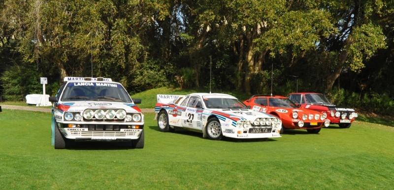 LANCIA Rally Reunion - Stratos, Integrale, Fulvia and 037 Together for Amelia 2015 26