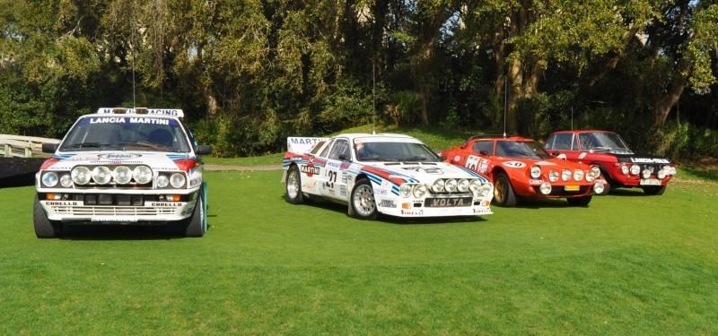 LANCIA Rally Reunion - Stratos, Integrale, Fulvia and 037 Together for Amelia 2015 27