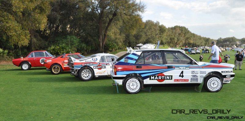 LANCIA Rally Reunion - Stratos, Integrale, Fulvia and 037 Together for Amelia 2015 52
