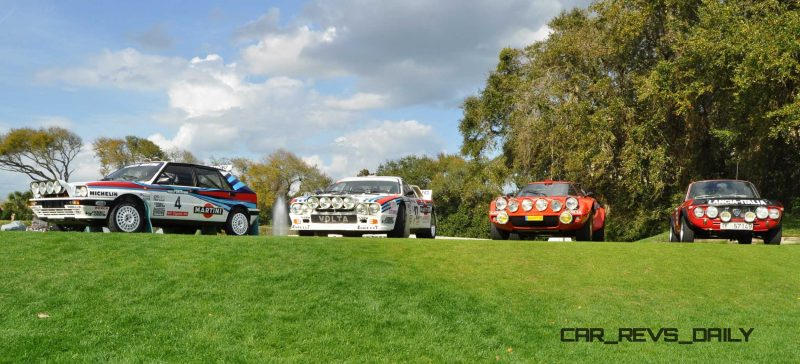 LANCIA Rally Reunion - Stratos, Integrale, Fulvia and 037 Together for Amelia 2015 9