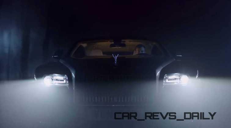 Rolls-Royce WRAITH 'And The World Stood Still' Film Stills 10