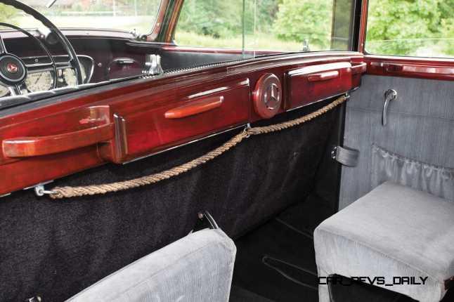 1939 Mercedes-Benz 320 Pullman Limousine 11