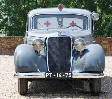 1952 Mercedes-Benz 170SV Ambulance 13