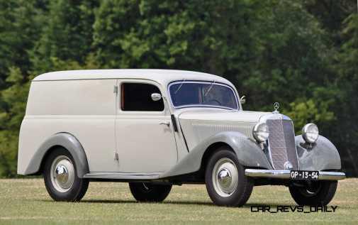 1952 Mercedes-Benz 170VA Panel Wagon 1