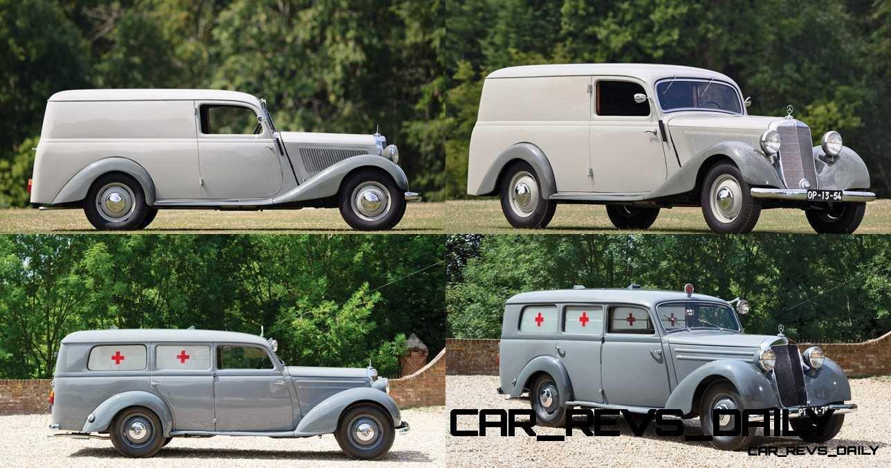 1952 Mercedes-Benz 170VA Panel Wagon  5-tile