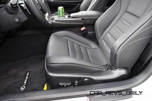2015 Lexus RC350 F Sport Interior 10