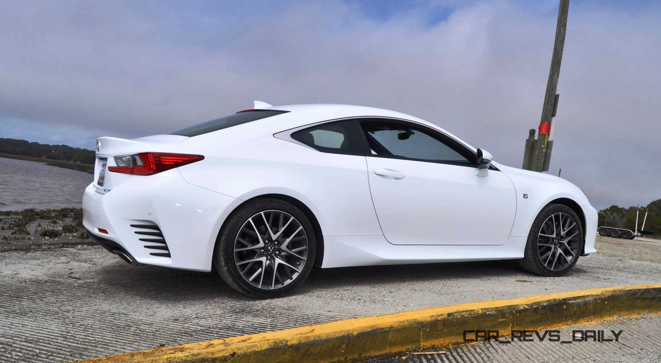 2015 Lexus RC350 F Sport Ultra White 19
