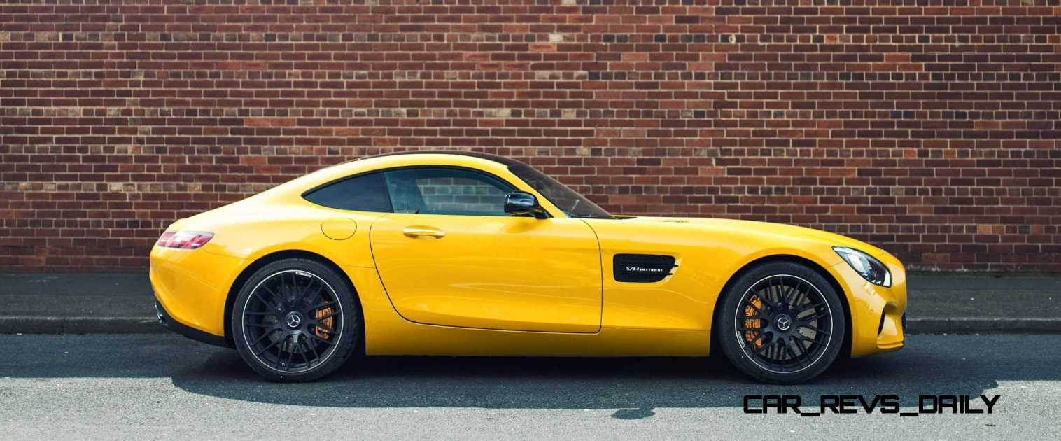 2015 Mercedes-AMG GT S Yellow 8